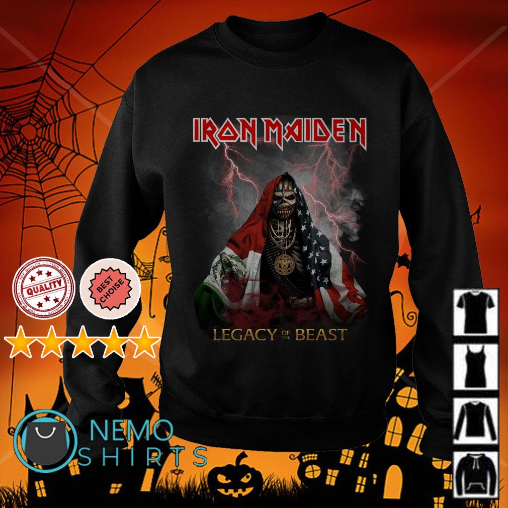 Iron Maiden Legacy of the beast Sweater