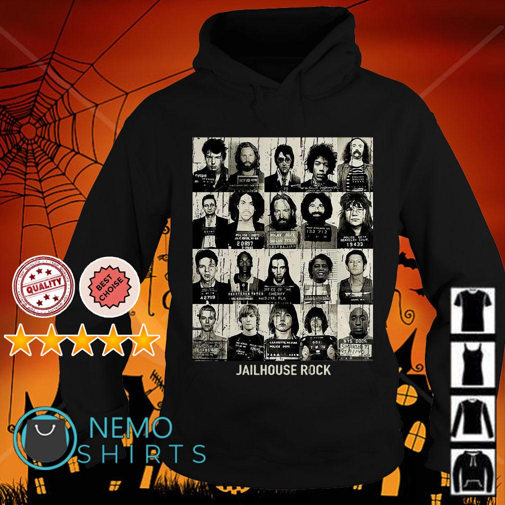 Jail House Rock rock star mugshots Hoodie