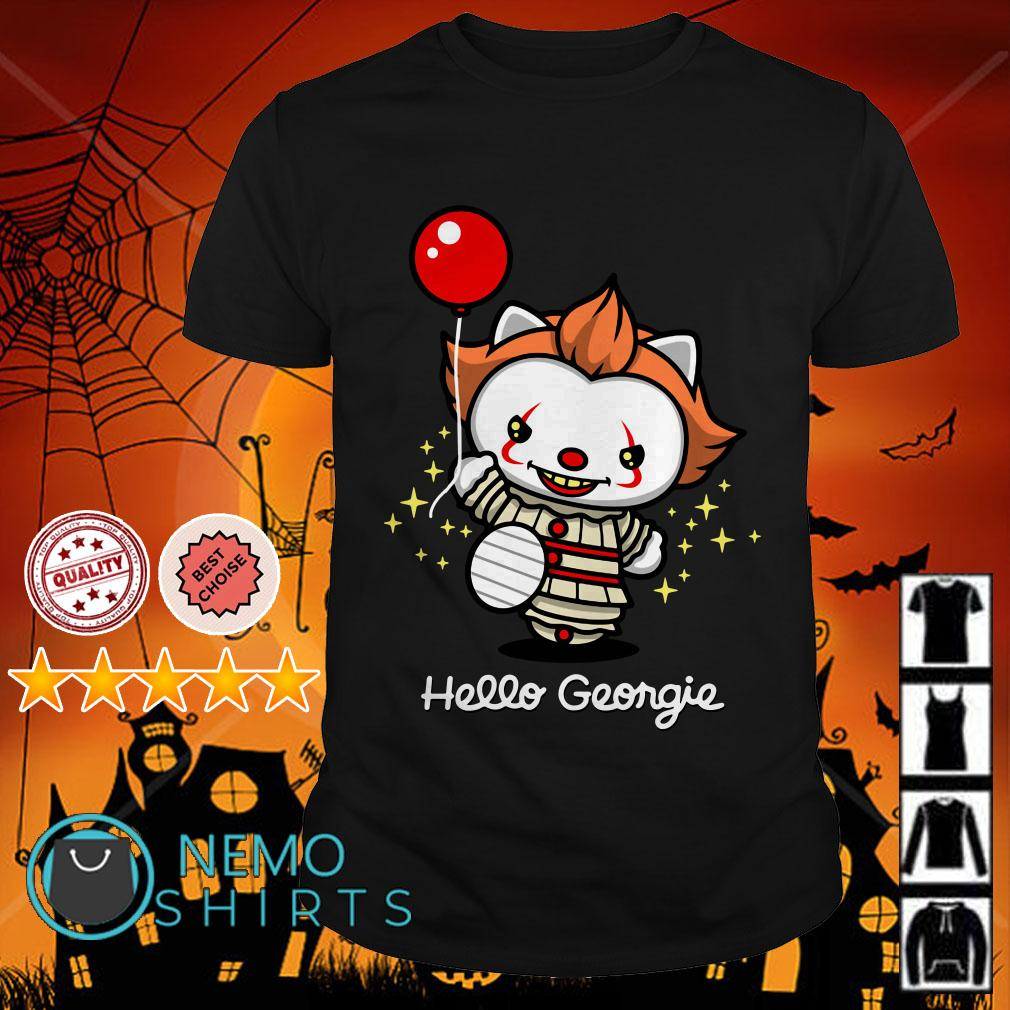 Kitty Pennywise Hello Georgie shirt