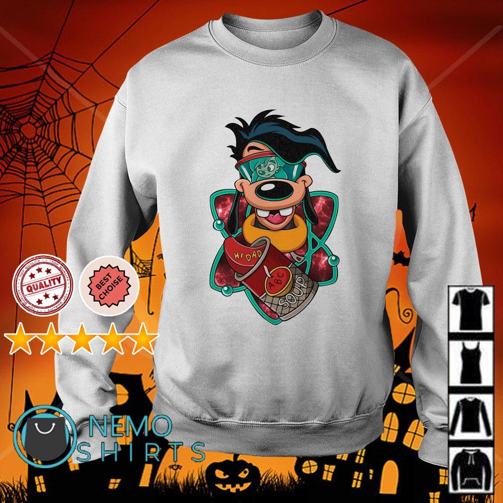 Max Goof Hi dad ABC soup Sweater