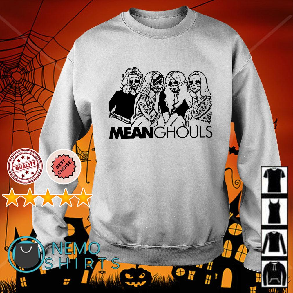 Mean Ghouls Horror movie characters Halloween Sweater