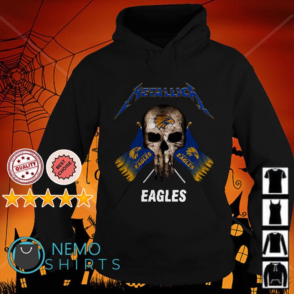 Metallica Skull Philadelphia Eagles flag Hoodie
