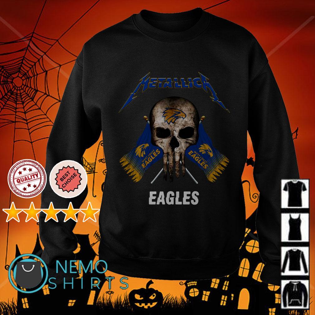 Metallica Skull Philadelphia Eagles flag Sweater