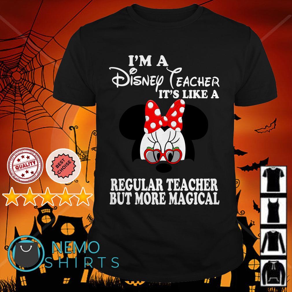 Mickey I'm a Disney gramma it's like a regular grandma but more magical shirt