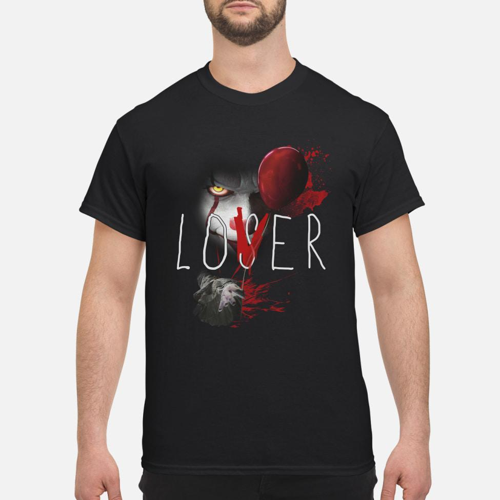 Official Pennywise It Lover Loser Halloween shirt