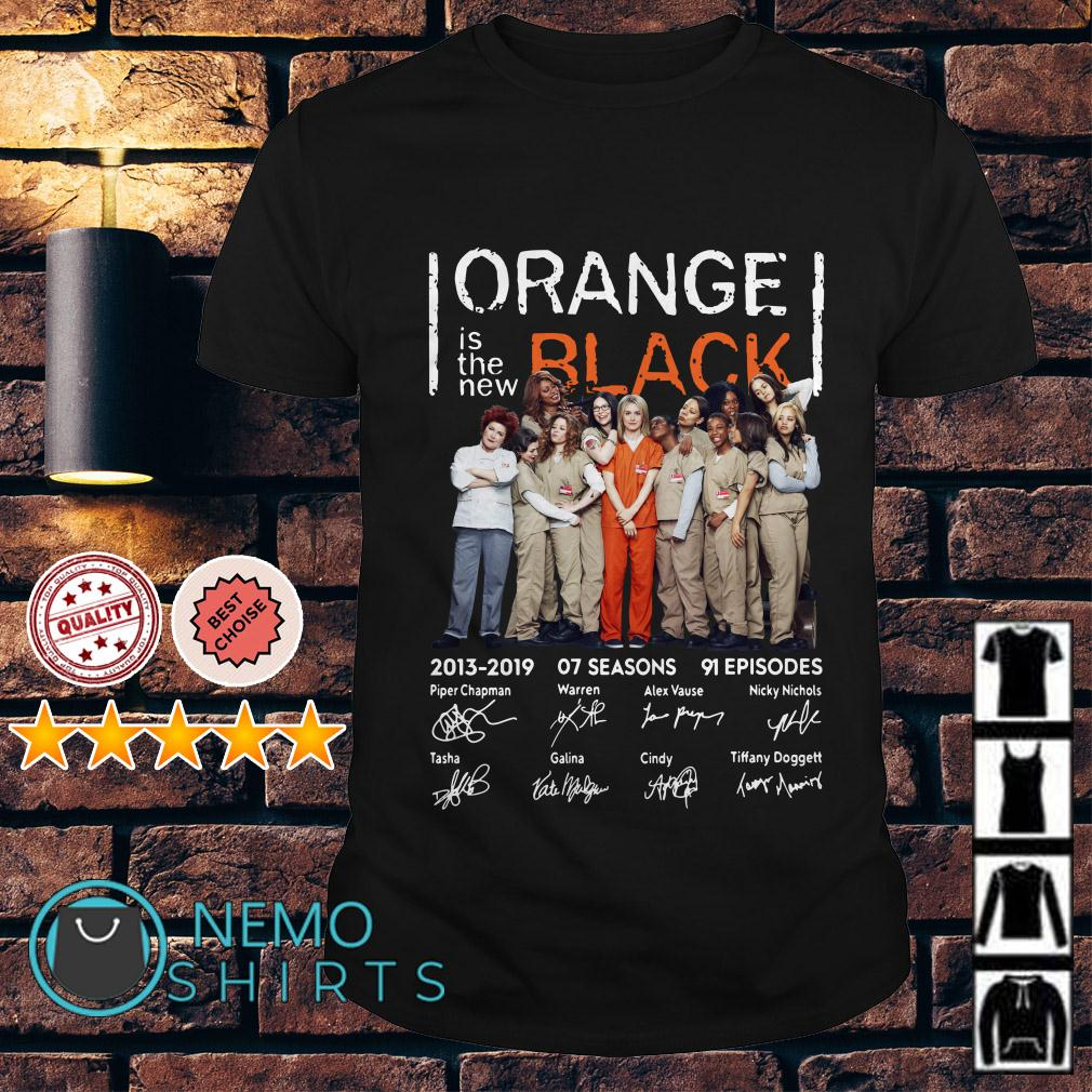 Orange is the new Black 2013 2019 signature shirt