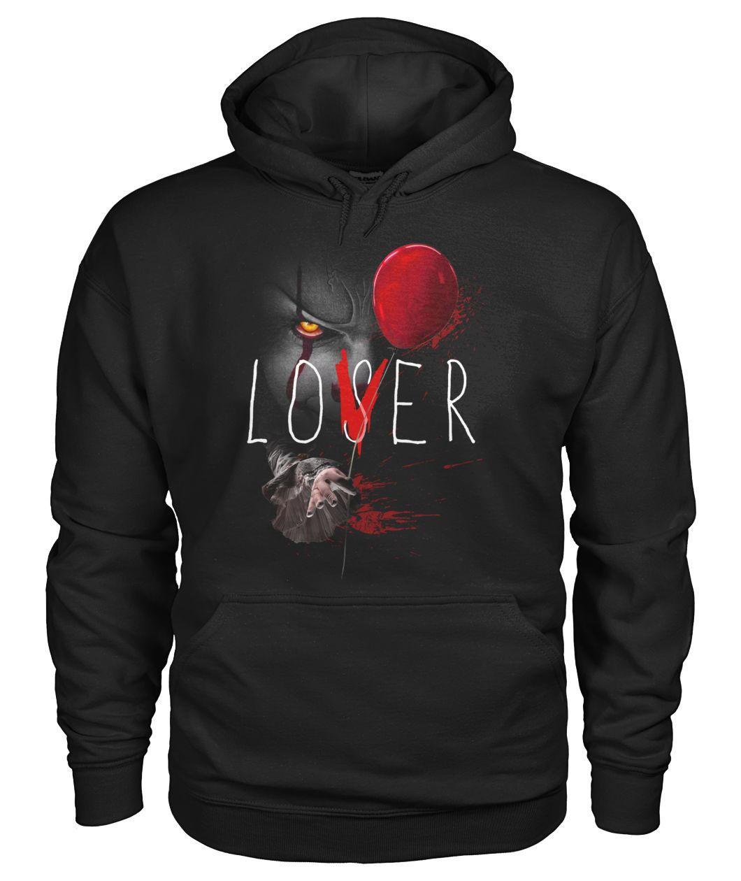Pennywise It Lover Loser Halloween Hoodie