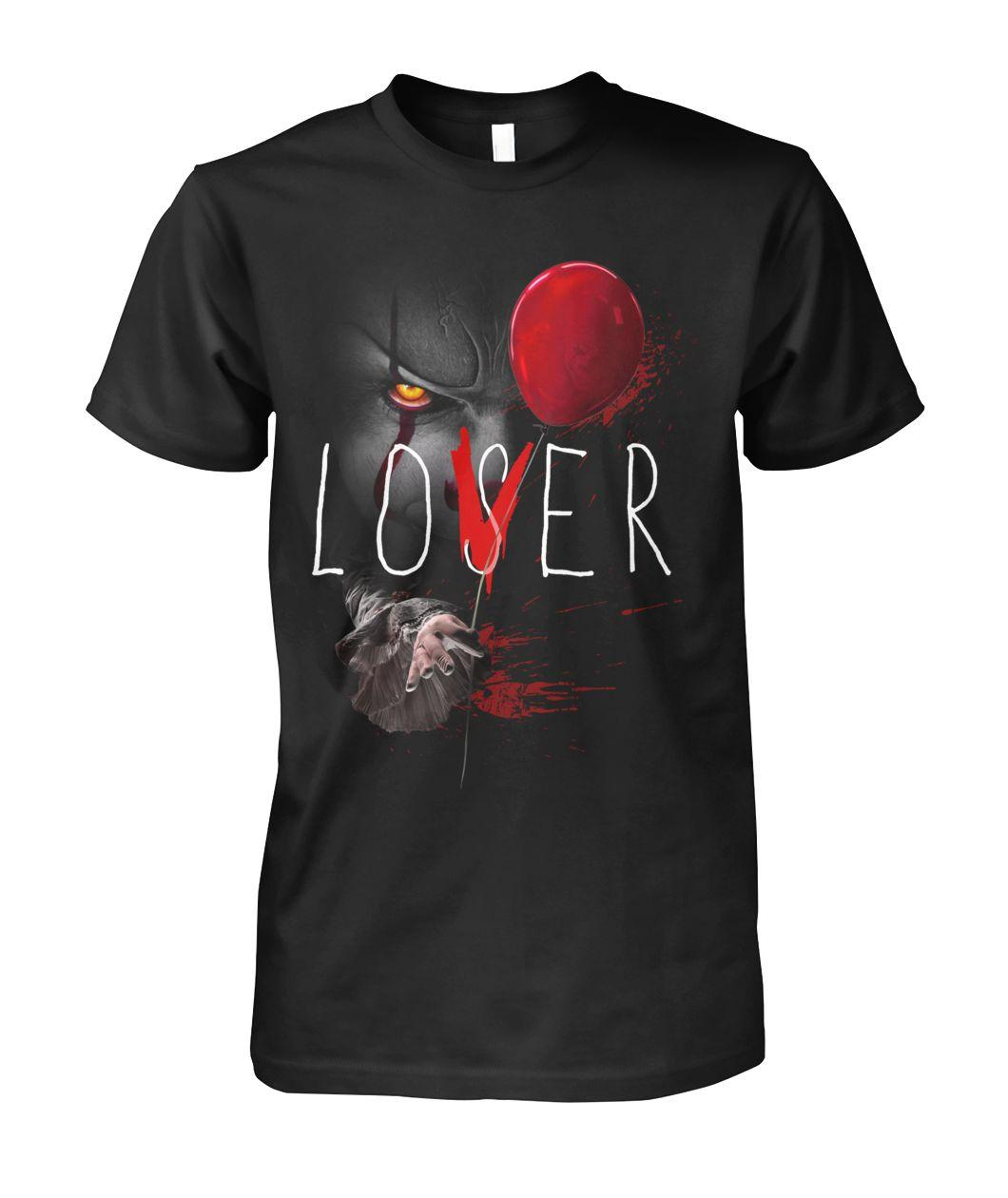 Pennywise It Lover Loser Halloween shirt