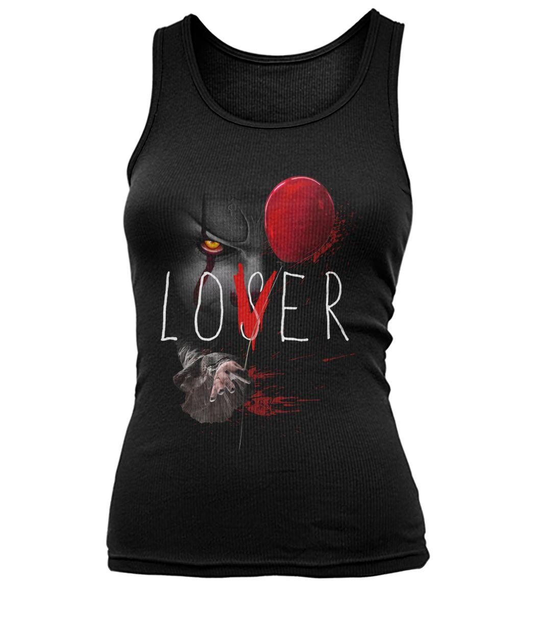 Pennywise It Lover Loser Halloween Tank top