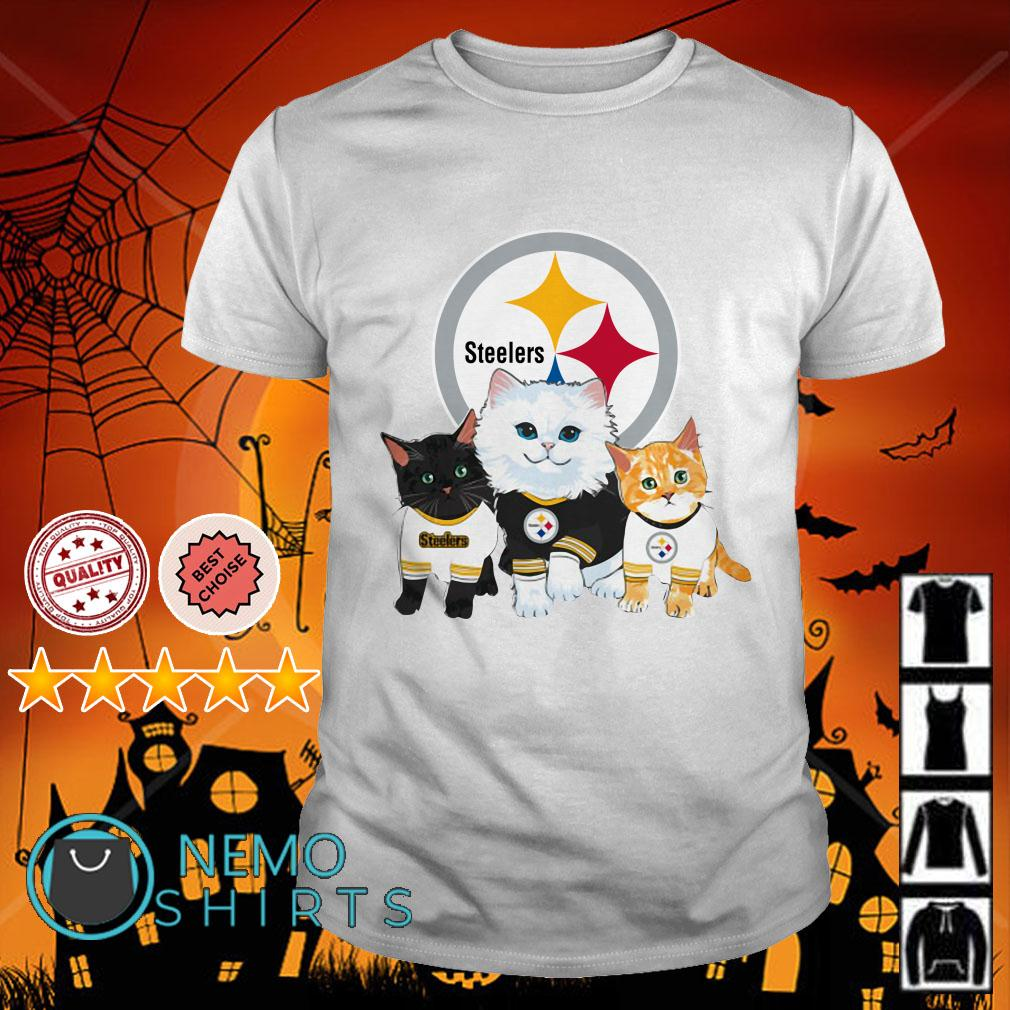 Pittsburgh Steelers cats shirt