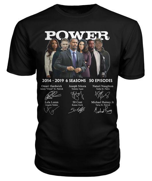 Power 214 2019 6 seasons 50 episodes signature shirt