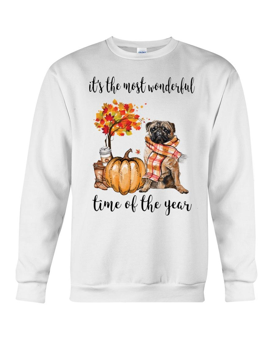Pug and pumpkin it's the most wonderful time of the year Sweater