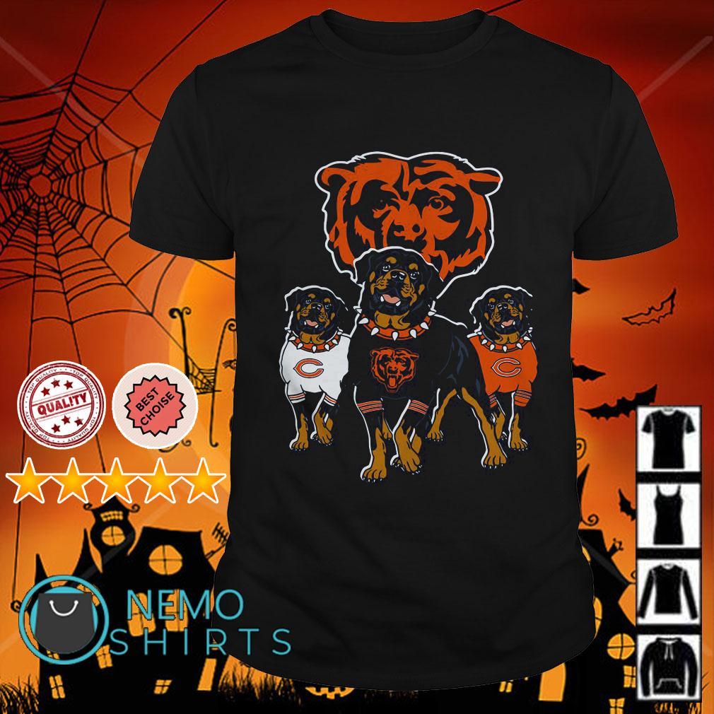 Rottweiler Chicago Bears shirt