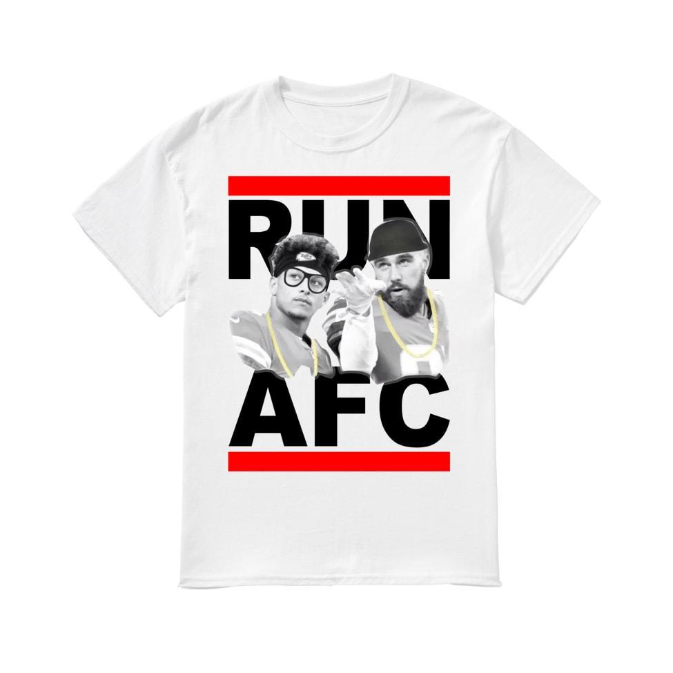 Run AFC shirt