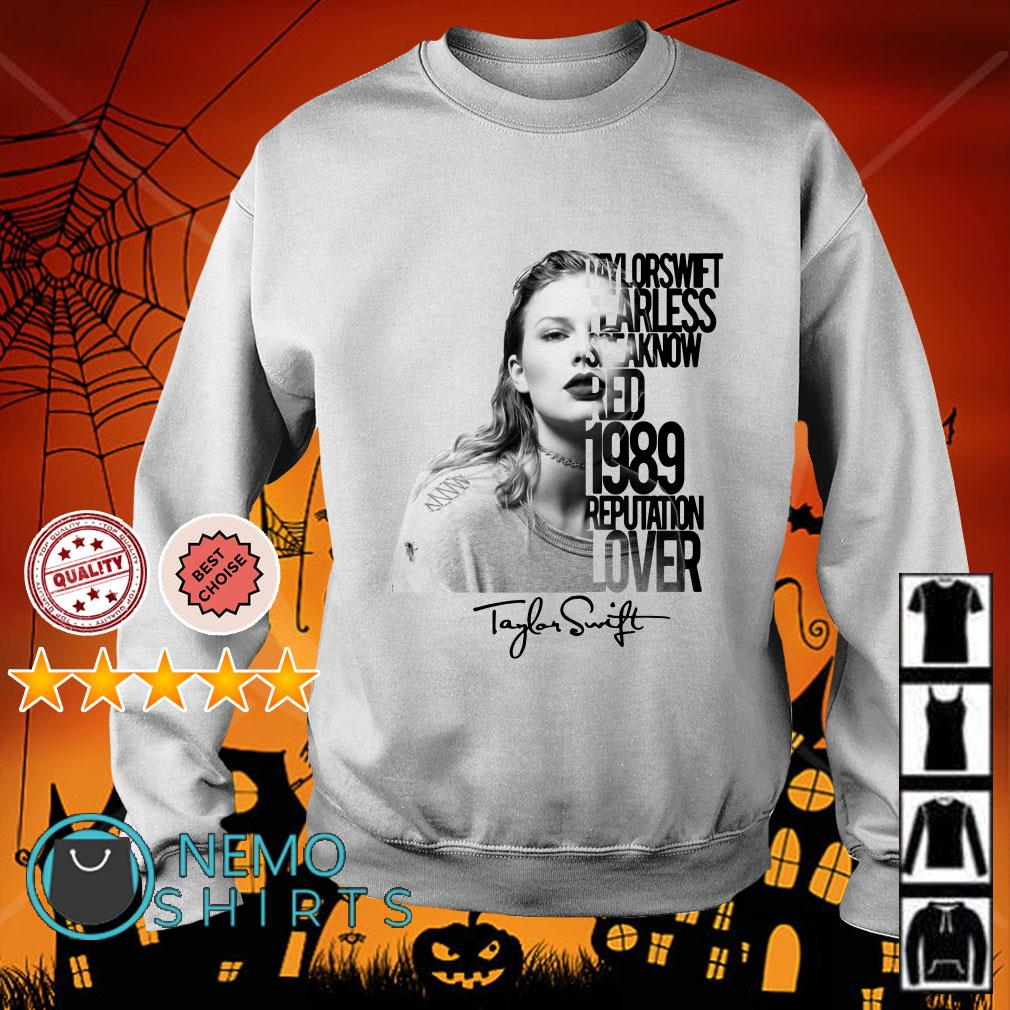 Taylor Swift fearless speak now red 1989 reputation lover Sweater