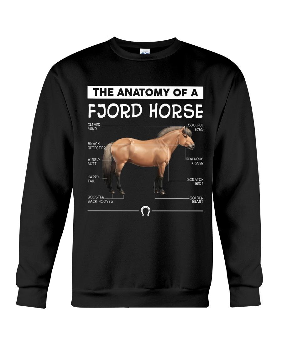 The anatomy of a Fjord horse Sweater