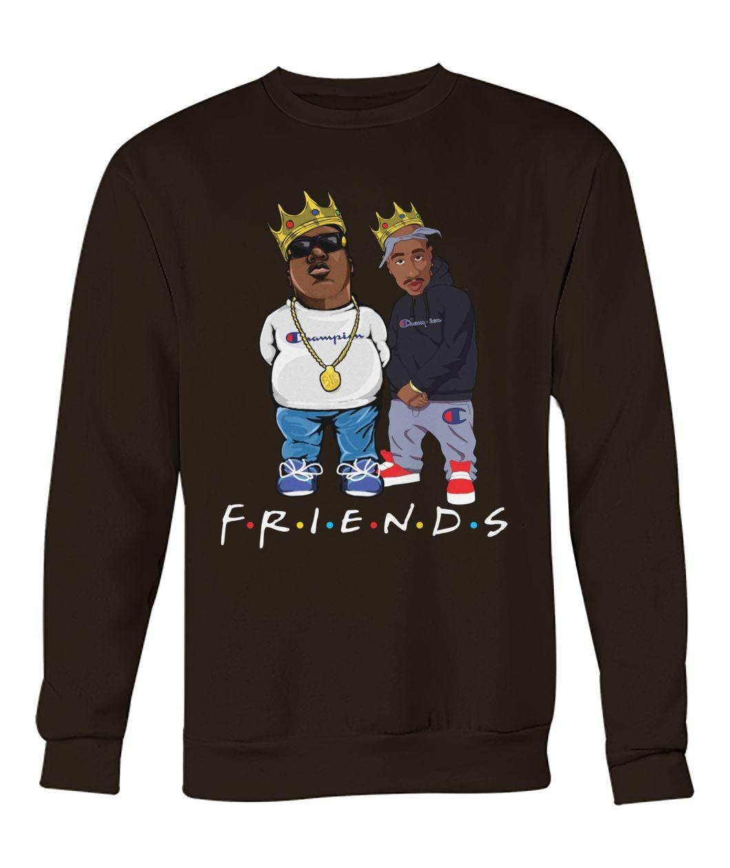 The Notorious B.I.G. and Tupac friends Sweater