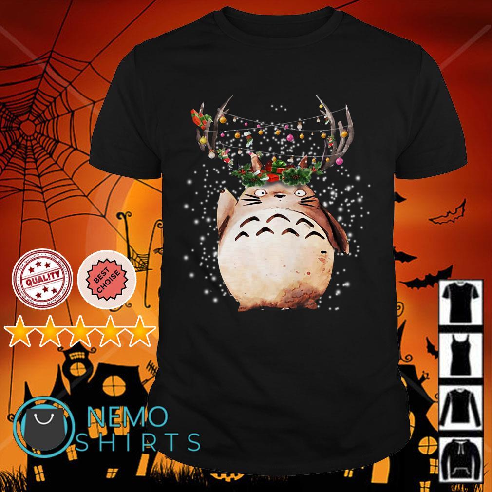 Totoro reindeer Christmas shirt