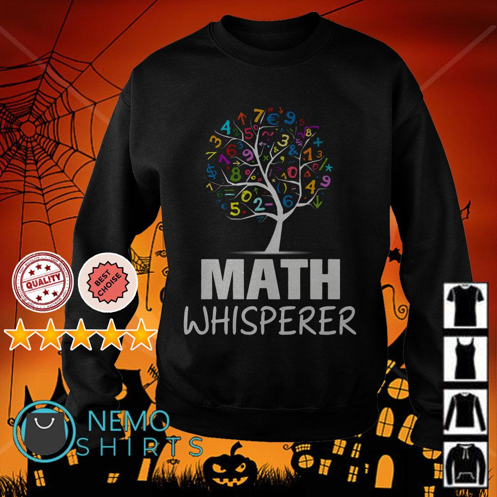 Tree math whisperer Sweater