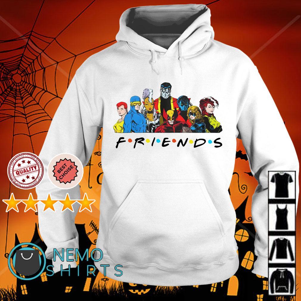 X-Men characters Friends Hoodie