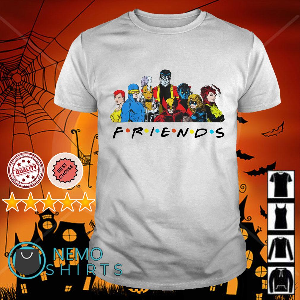 X-Men characters Friends shirt