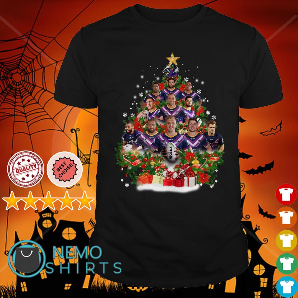 Christmas Trees Melbourne: Melbourne Storm Players Christmas Tree Shirt, Hoodie, Sweater
