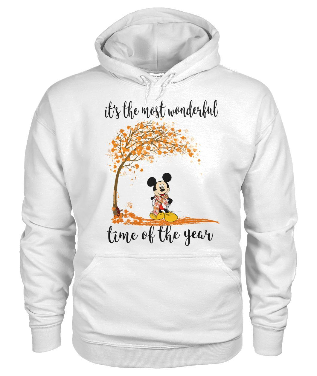 Mickey it's the most wonderful time of the year Hoodie