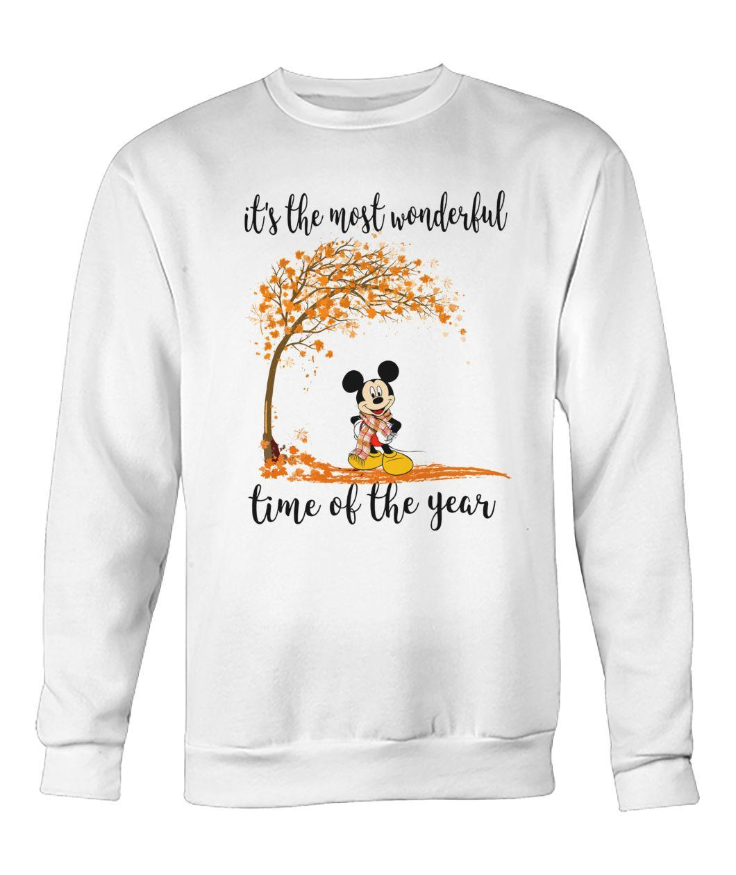 Mickey it's the most wonderful time of the year Sweater