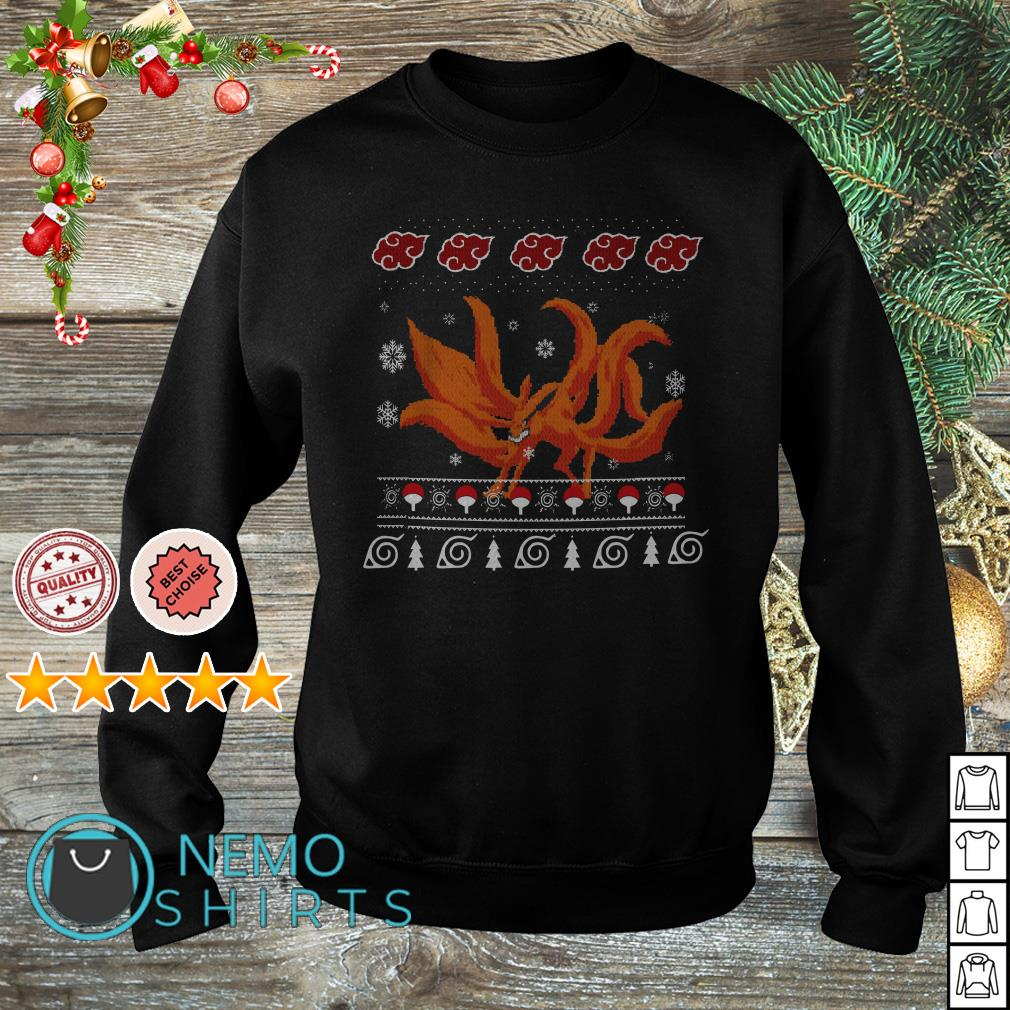 0 Tails Naruto naruto kurama nine tails christmas sweater, shirt, hoodie