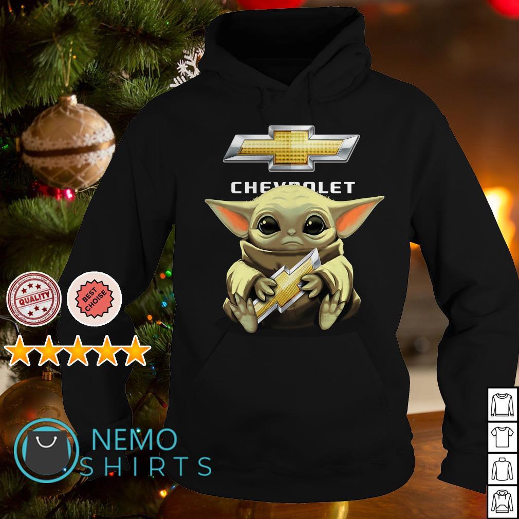 Baby Yoda Hug Chevrolet Shirt Ngbaoshirt