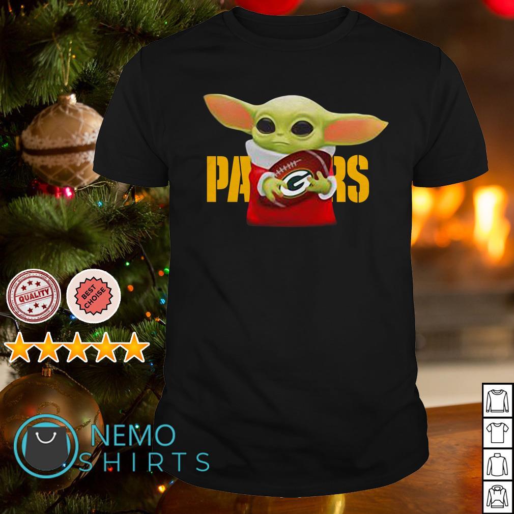Baby Yoda Hug Green Bay Packers Shirt Hoodie Sweater