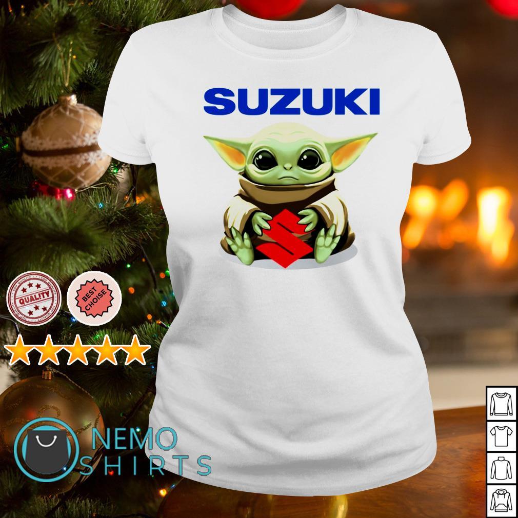 Baby Yoda Hug Suzuki Shirt Chuot Sun Rang