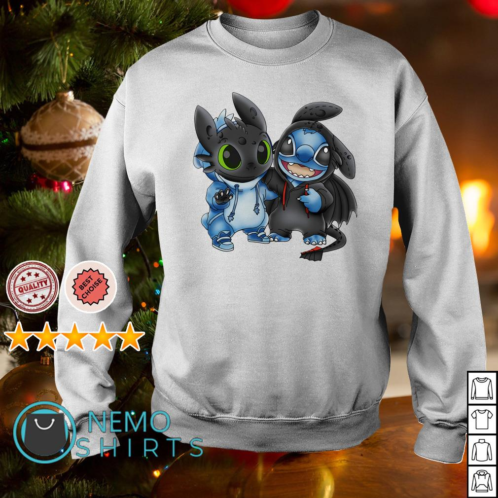 Toothless and Stitch are best friends shirt Chuot Sun Rang