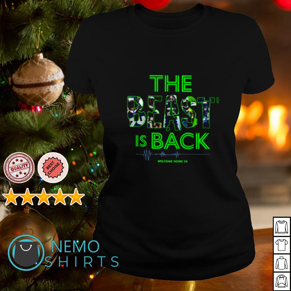 Avis Sur Le Site Home24 seattle seahawks the beast is back welcome home 24 shirt