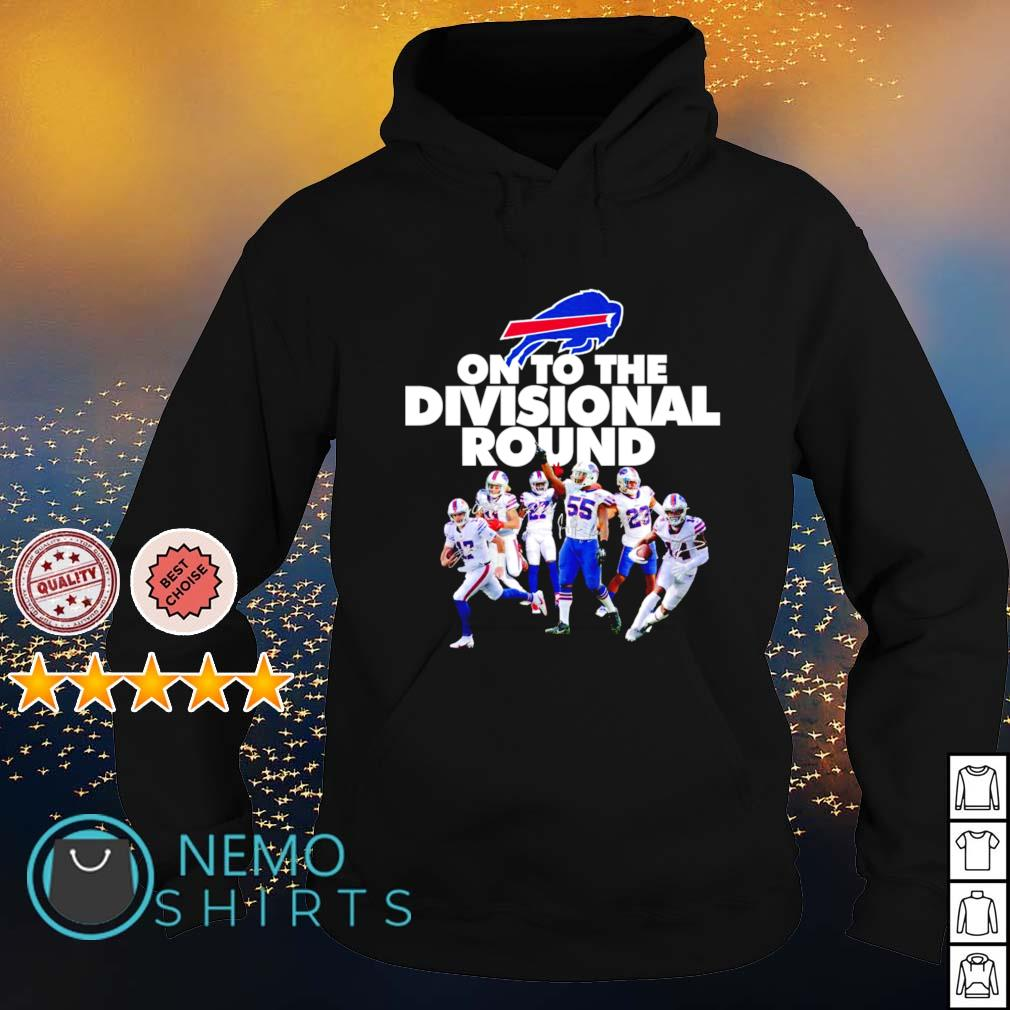 Buffalo Bills on to the divisional round s hoodie