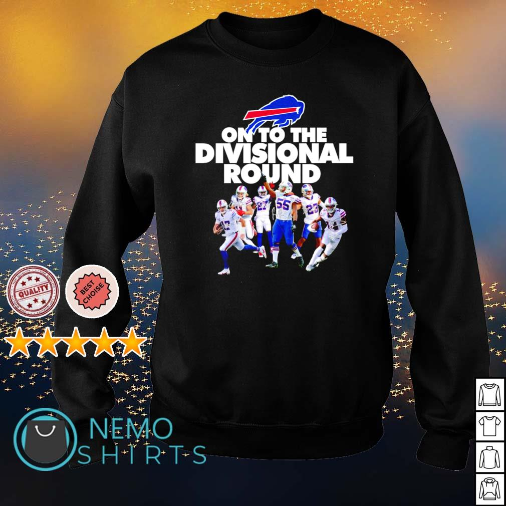 Buffalo Bills on to the divisional round s sweater