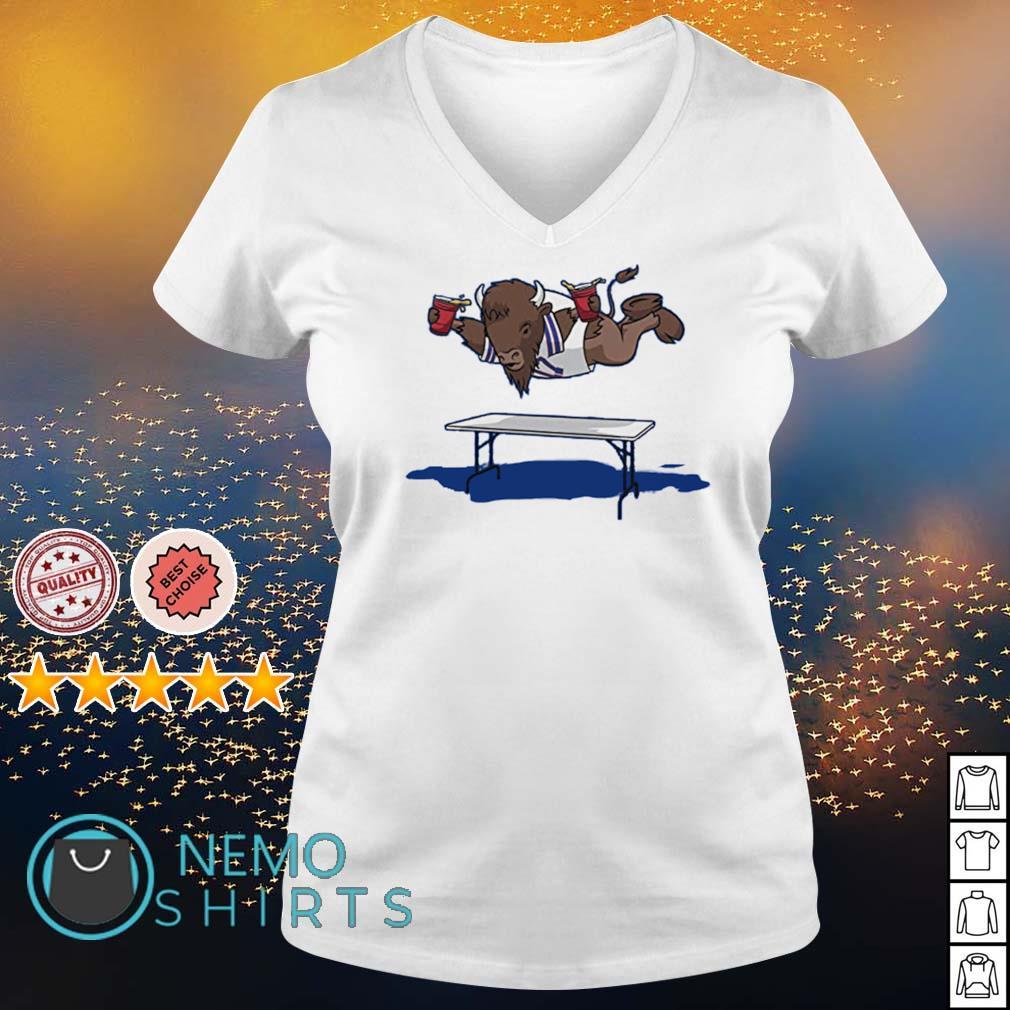 Buffalo fly Buffalo Bills Josh Allen s v-neck-t-shirt