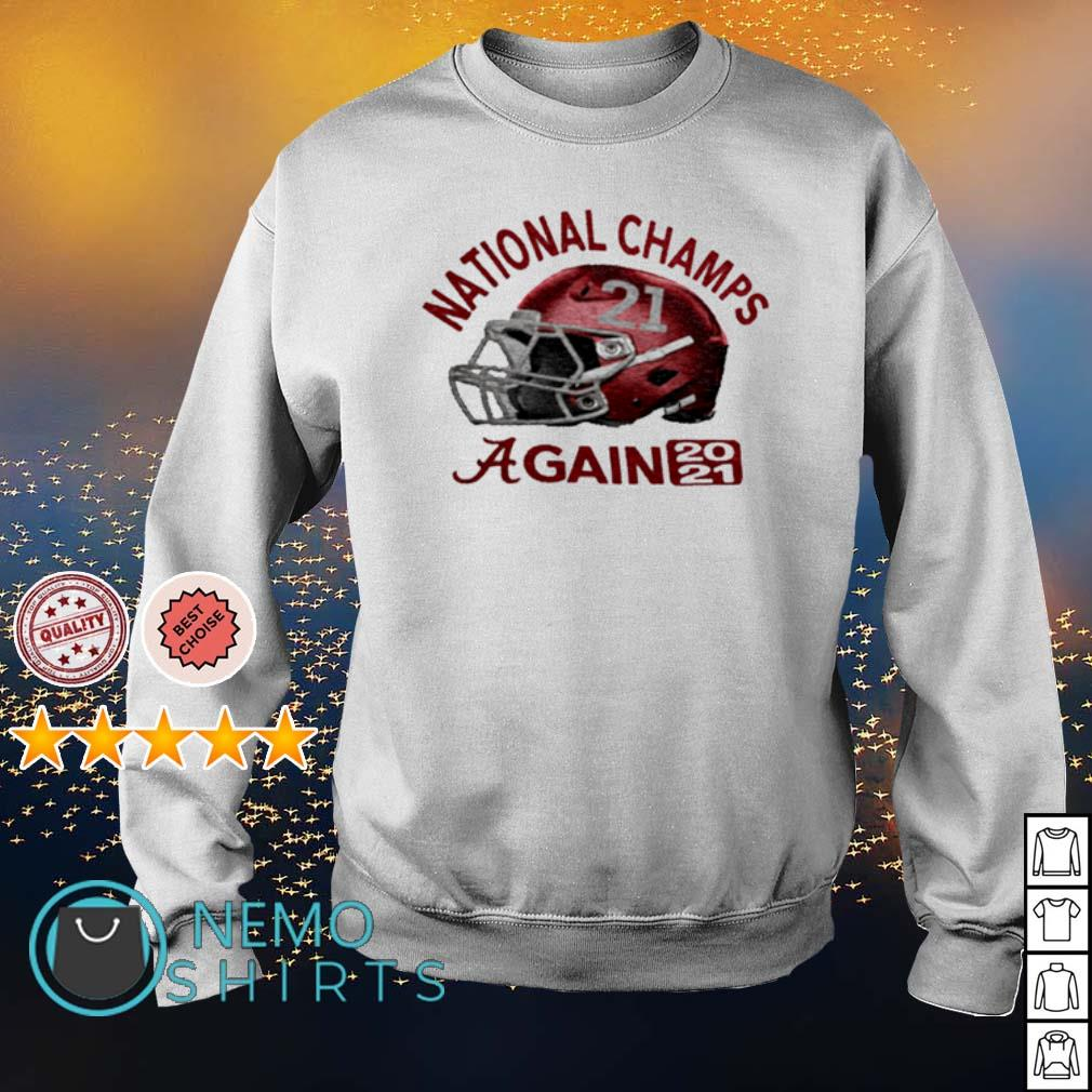 CFP national champs Alabama champions again 2021 s sweater
