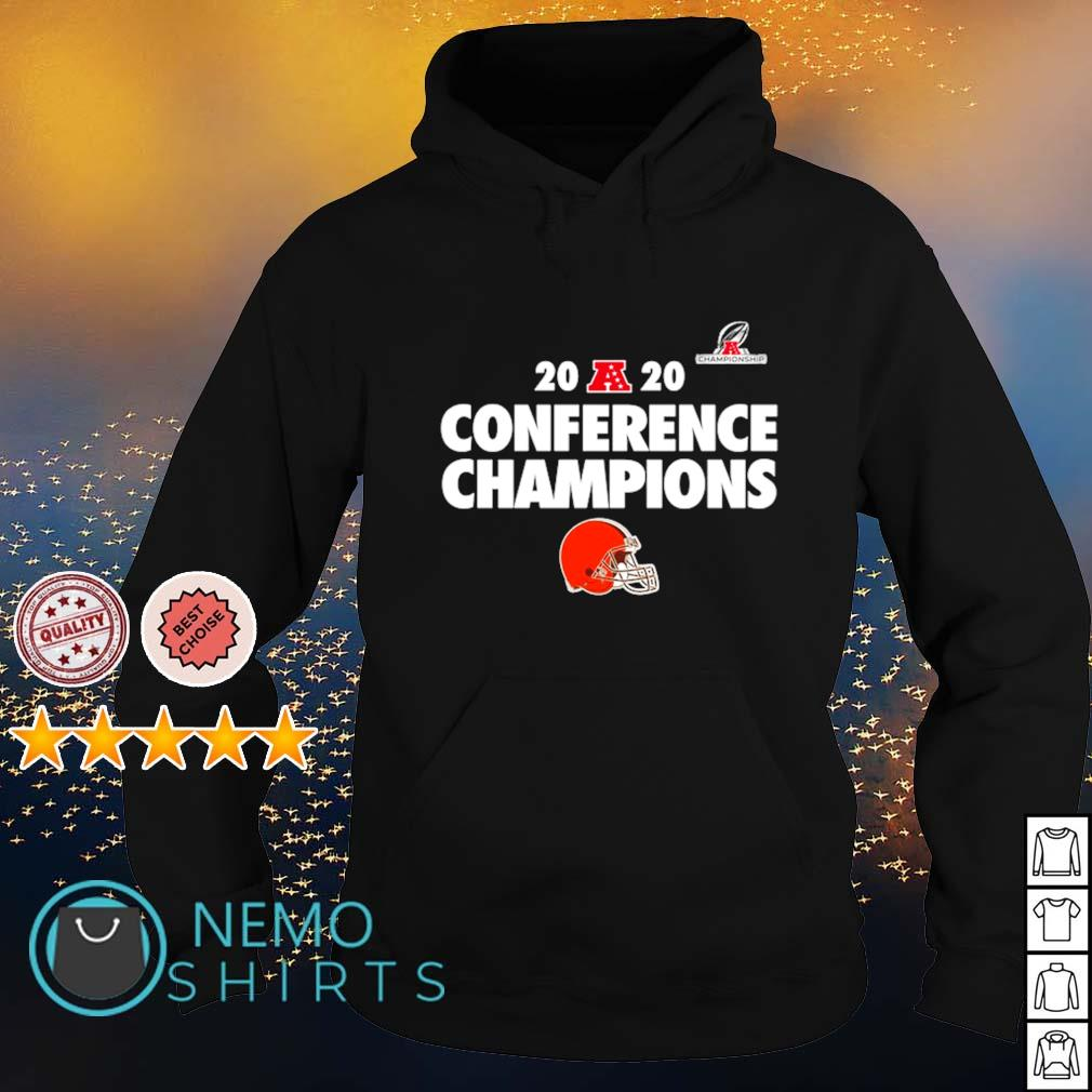 Cleveland Browns 2020 conference champions s hoodie