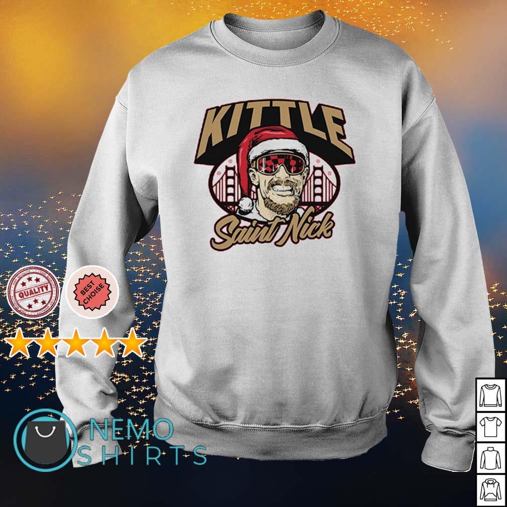 George Kittle Saint Nick s sweater