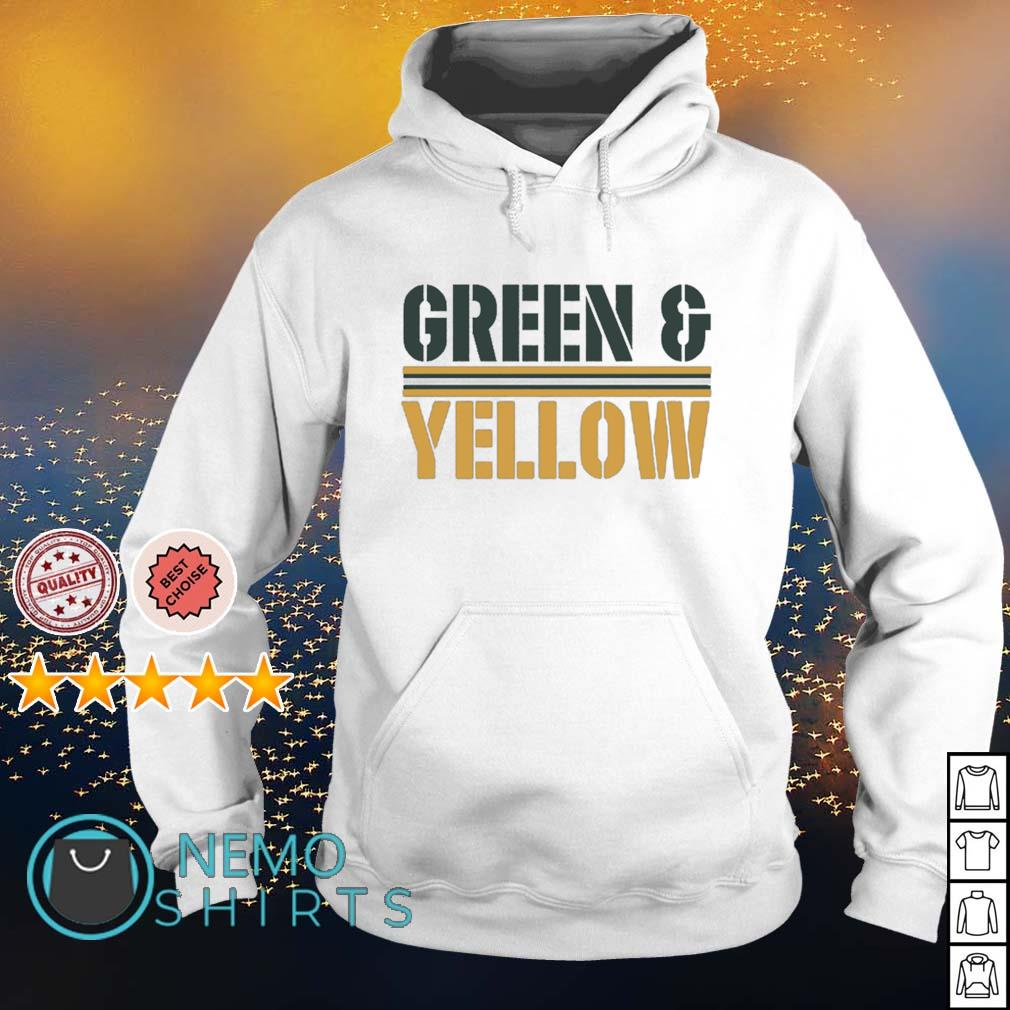 Green Bay Packers Green and Yellow s hoodie