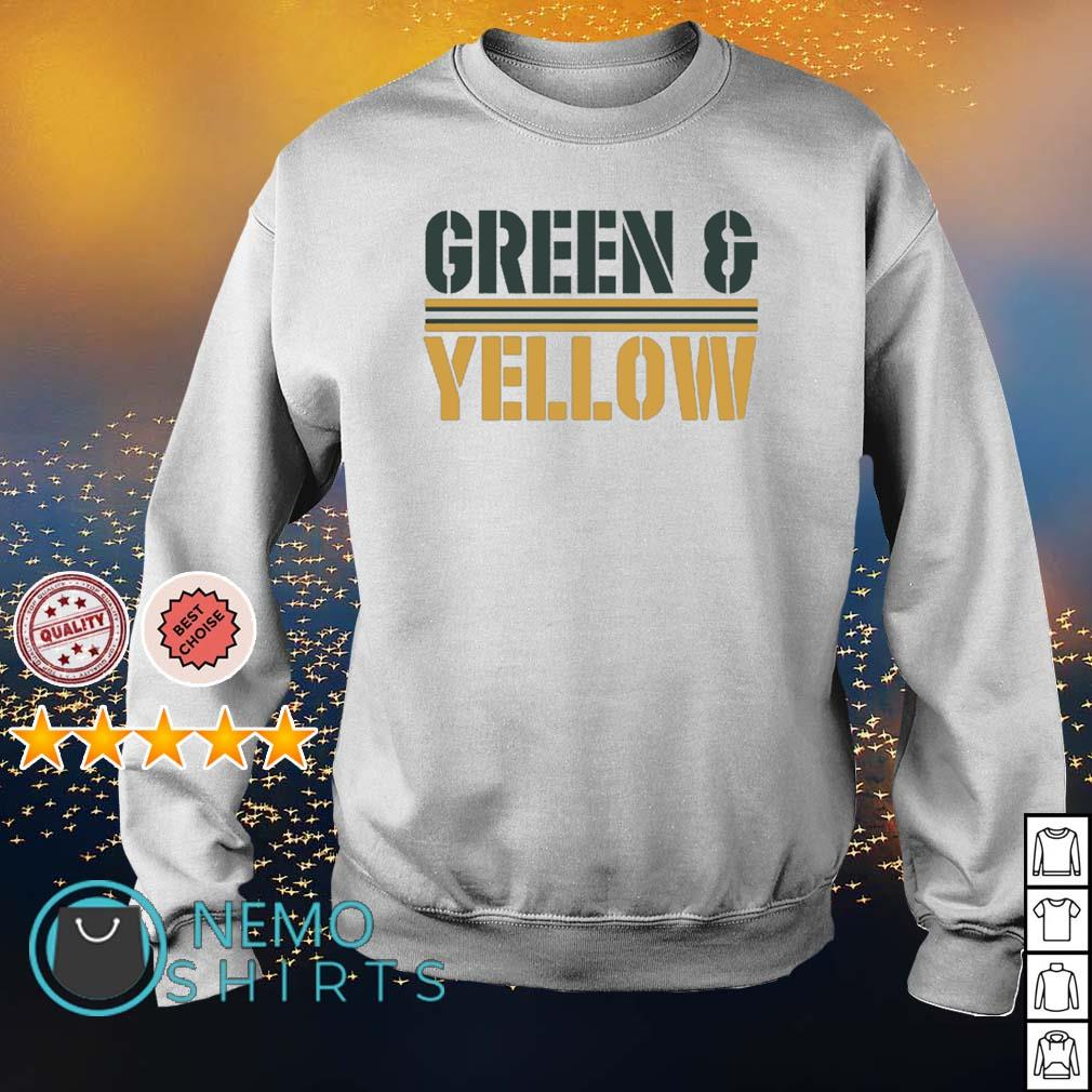 Green Bay Packers Green and Yellow s sweater