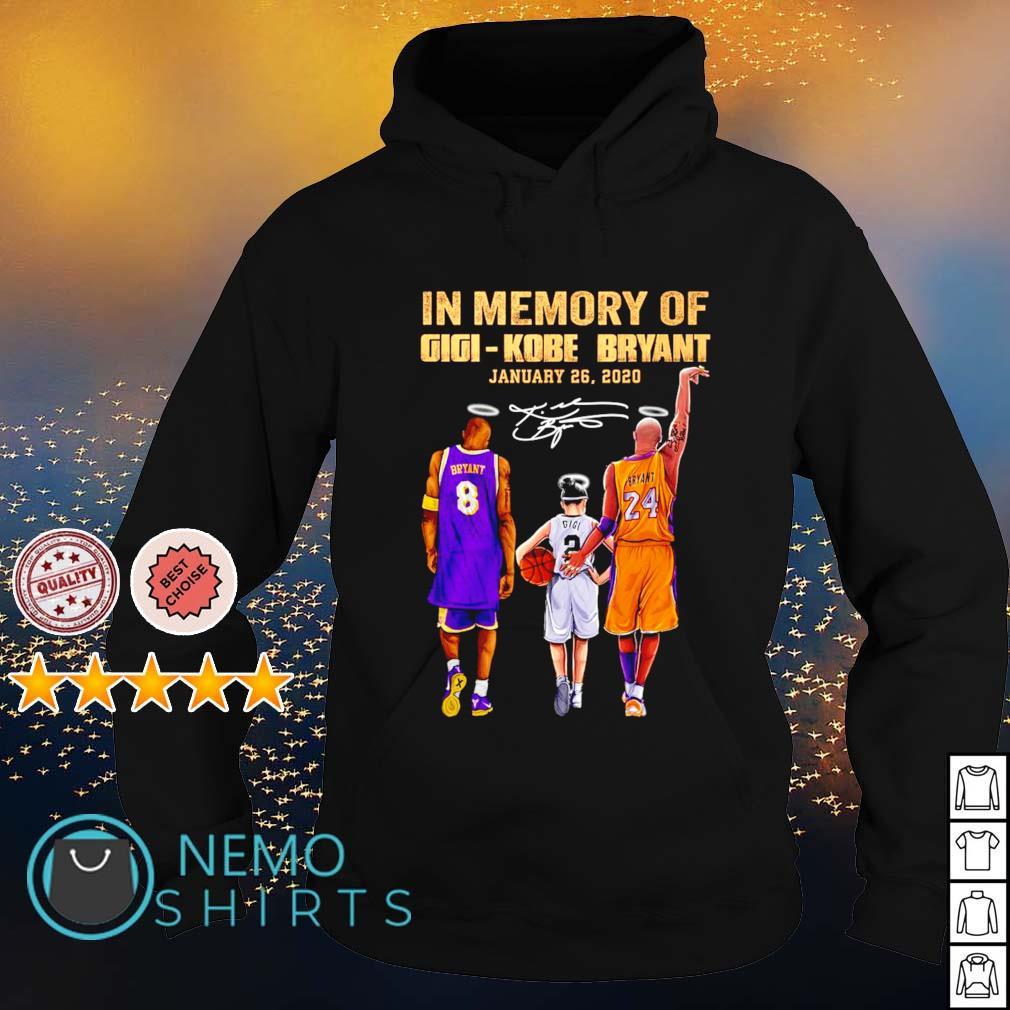 In memory of Gigi Kobe Bryant January 26 2020 s hoodie