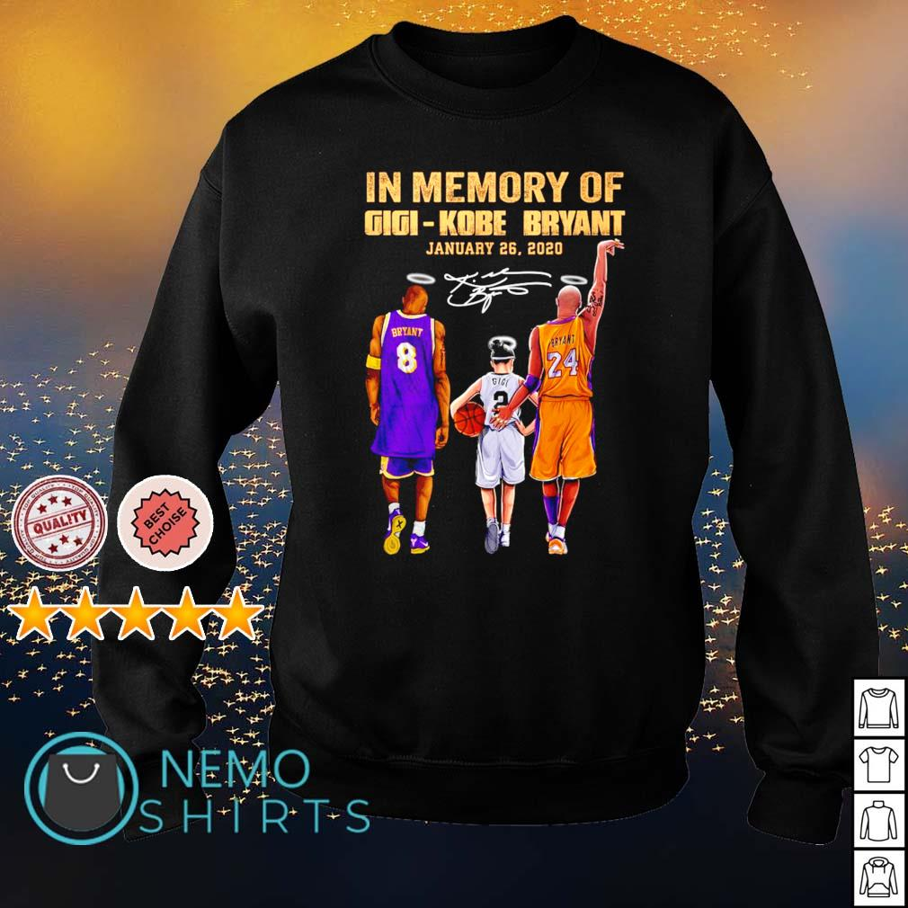 In memory of Gigi Kobe Bryant January 26 2020 s sweater
