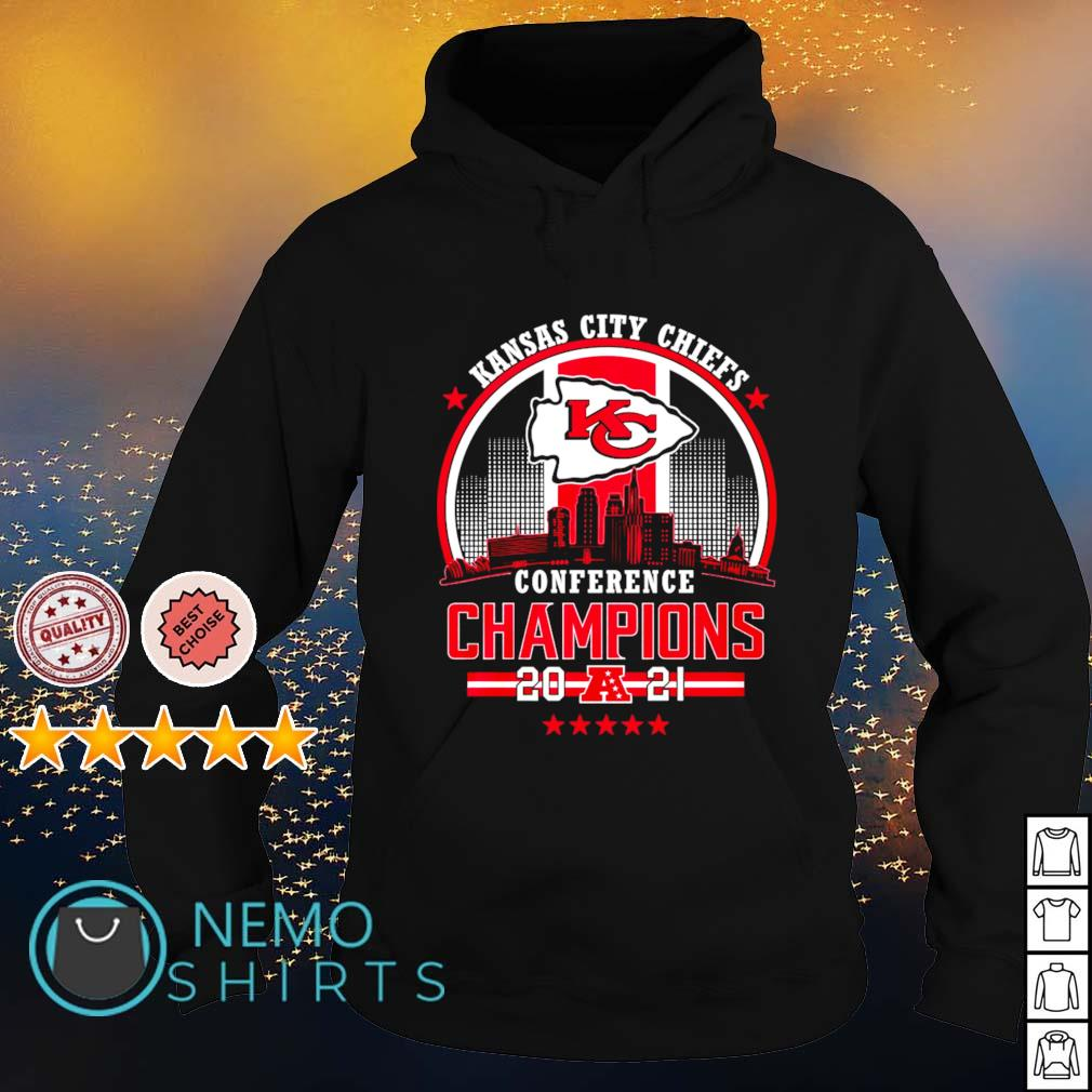 Kansas City Chiefs conference champions 2021 s hoodie