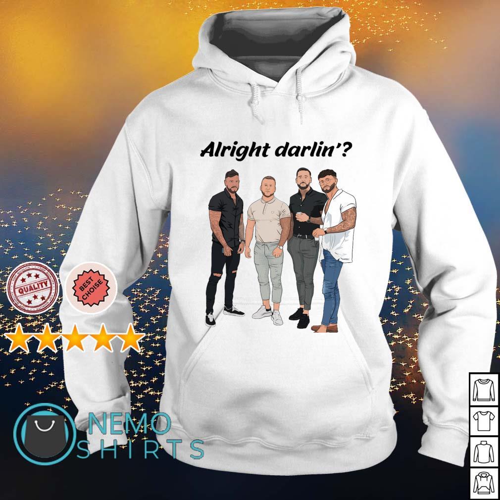 Mens alright darling s hoodie