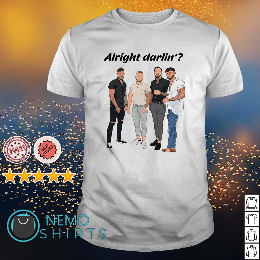 Mens alright darling shirt