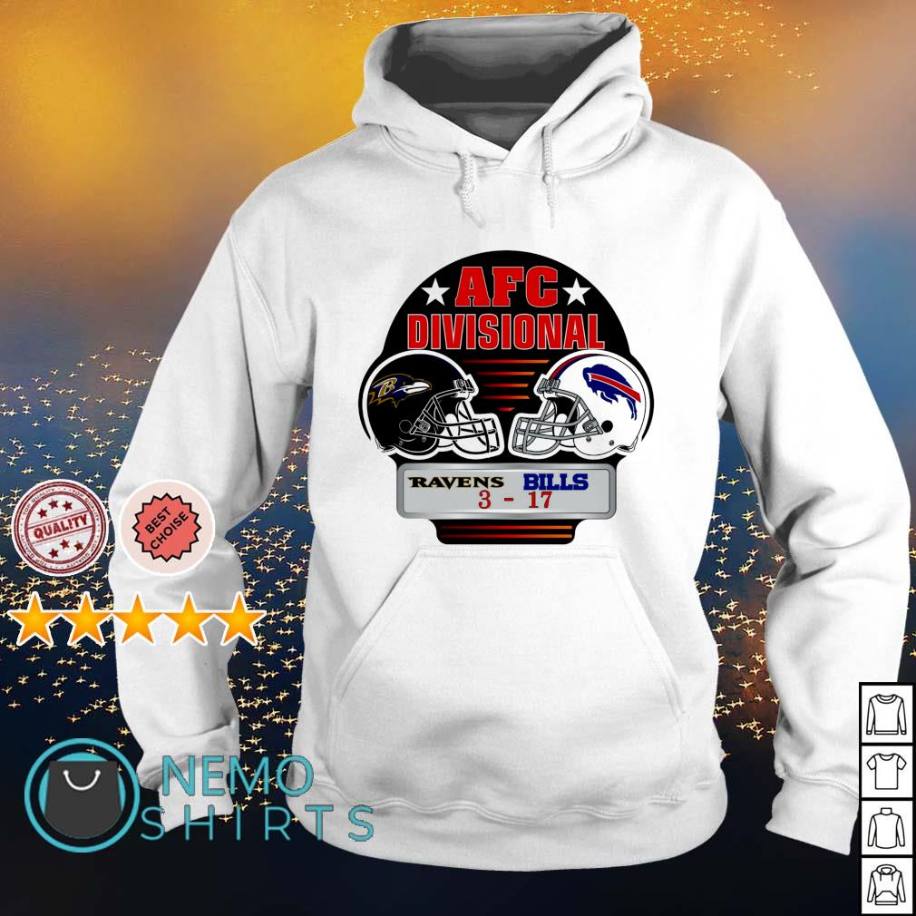 Ravens vs. Bills 3 AFC Divisional s hoodie