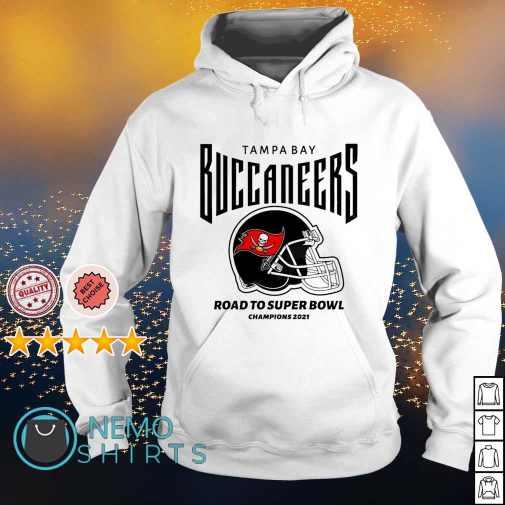 Tampa Bay Buccaneers road to super bowl champions 2021 s hoodie