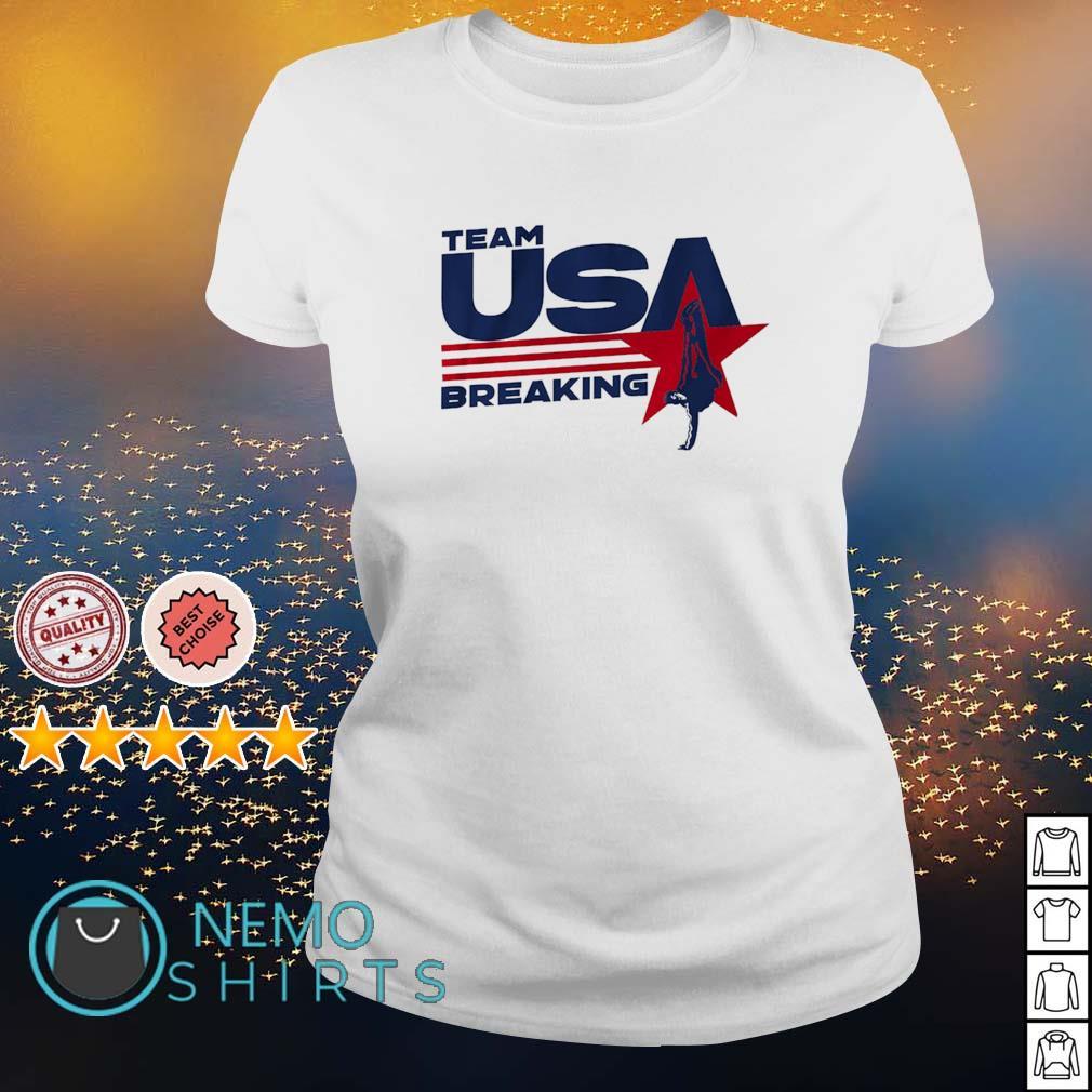 Team USA Breaking s ladies-tee